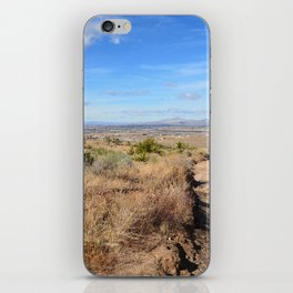 Clouds and Shadows Cast in the California Desert iPhone Skin