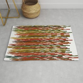 Wind Dancing with Autumn Leaves at the Harvest Ball Rug