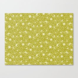 Tossed Floral Canvas Print