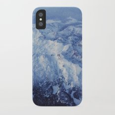 Winter Mountain Range II iPhone X Slim Case