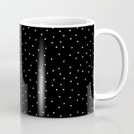 Dots Black Coffee Mug