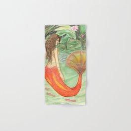 Waterlily Mermaid Hand & Bath Towel