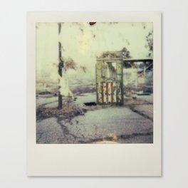 Abandoned Amusement Park 01 Canvas Print