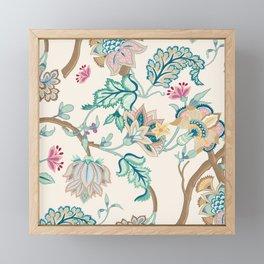 Indian Inspired Pattern Design Framed Mini Art Print