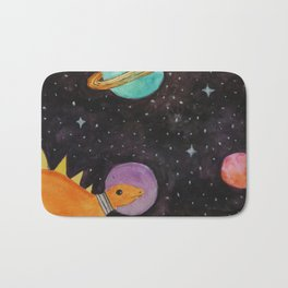 Space Dinosaurs Bath Mat
