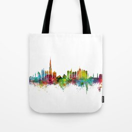 Dubai Skyline Tote Bag