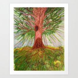 Our Tree Art Print