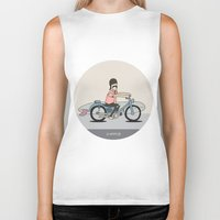 honda Biker Tanks featuring Honda C-70 by Al Wrath Gallery