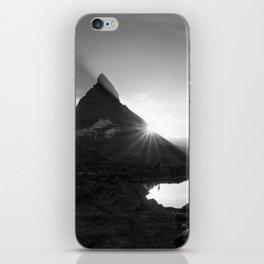 Shining Matterhorn iPhone Skin