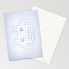 A SPACE PLAN Stationery Cards