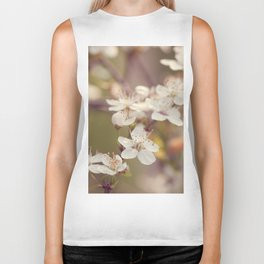 Blooming spring tree Biker Tank