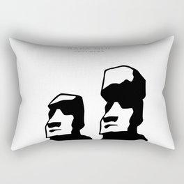 Rapa nui art Rectangular Pillow
