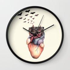 Abandoned (Vacancy Zine) Wall Clock