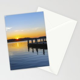 Sunset at the Boat Ramp Stationery Cards