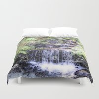 thailand Duvet Covers featuring Thailand, painted version by MehrFarbeimLeben