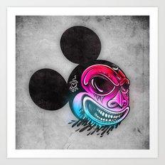 Evil Mickey 2 Art Print
