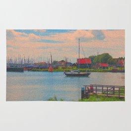 Monet style no.2 Rug