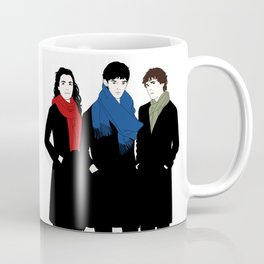 The Witch, the Wizard, and the Warlock Coffee Mug
