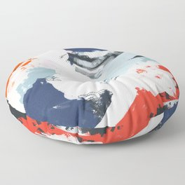 Abstract Color Pop Floor Pillow