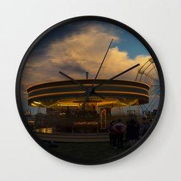 Galloper Twylight Wall Clock