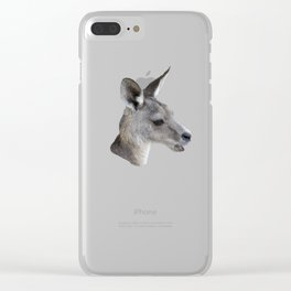 The Kangaroo Clear iPhone Case