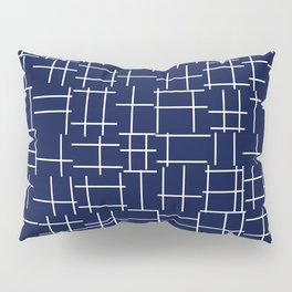 Crossing Lines Pillow Sham