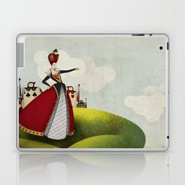 Off with their heads Queen of hearts from Alice in Wonderland Laptop & iPad Skin