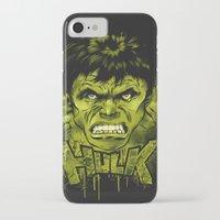 hulk iPhone & iPod Cases featuring HULK by dan elijah g. fajardo