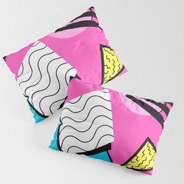 80s Memphis Design Pattern Pillow Sham