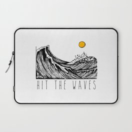 Hit The Waves Laptop Sleeve