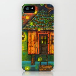 Little House on the Bayou  iPhone Case