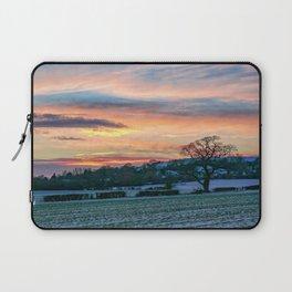 Sunset & Snow Laptop Sleeve