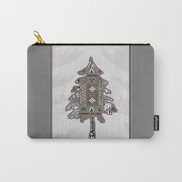 Christmas Patchwork Tree Carry-All Pouch