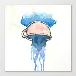 Ocean, tea, space Canvas Print