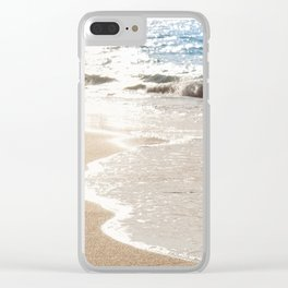 Footprints Clear iPhone Case