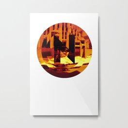 N for new york Metal Print