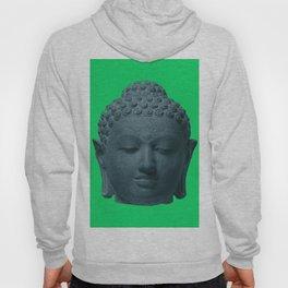 Head of Buddha Indonesia, Java, Sailendra Period, 9th Century early 800s 2 Hoody