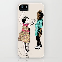 Dancing Kids iPhone Case