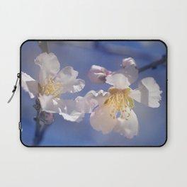 """Winter spring"". Almond flowers. Laptop Sleeve"