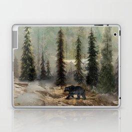Mountain Black Bear Laptop & iPad Skin
