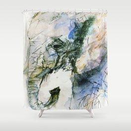Elephant Queen Shower Curtain