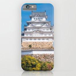Himeji Castle Grounds in autumn in Japan. iPhone Case
