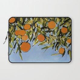 Orange Grove (Blue) Laptop Sleeve