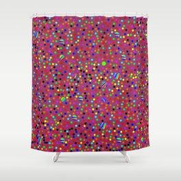 Colorful Rain 13 Shower Curtain