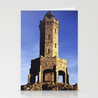 darwin Stationery Cards featuring Darwin Tower by Mycatkins