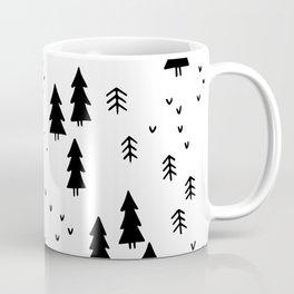 Woods in White Coffee Mug