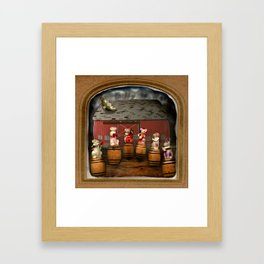 The Deserted Toyshop: Barn Dance Framed Art Print