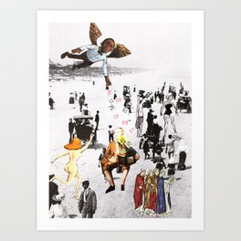 The gift of numbers Art Print