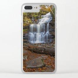 Ganoga Falls Clear iPhone Case