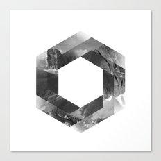 Optical landscape Canvas Print
